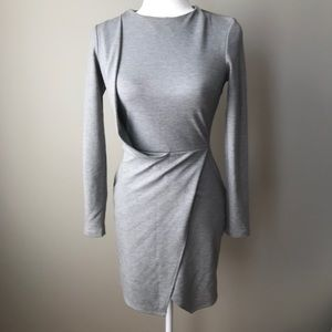 🔥2/$20 Topshop Grey Dress Fitted Pinstripe 2